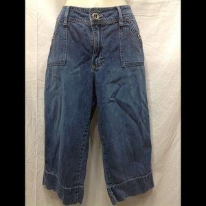 Women's size 14M LEE Low on the Waist cropped jean